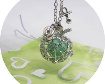 Pregnancy's Bola cage Apple * color customizable *-MOM, baby, pregnant, babyshower, birth gift