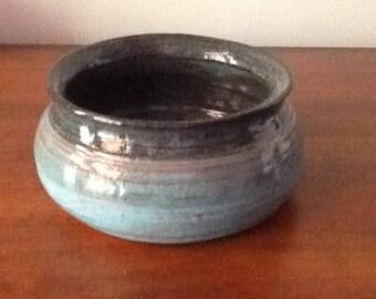 "Red earthenware pot 5"" diameter, 2 1/4"" tall"