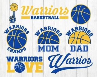 INSTANT DOWNLOAD - Golden State Basketball Team, Basketball Clipart, Golden State Warriors Svg, Golden State Warriors Clipart,Basketball Svg