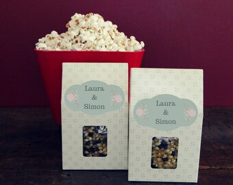 10 or 20 boxes to customize to make the best gourmet popcorn! Set of 10 or 20 boxes