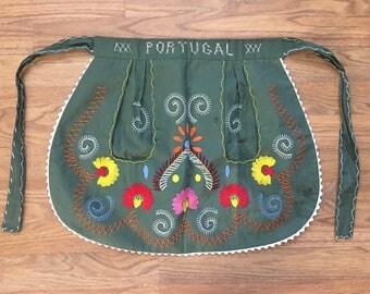 Vintage Portugal Apron