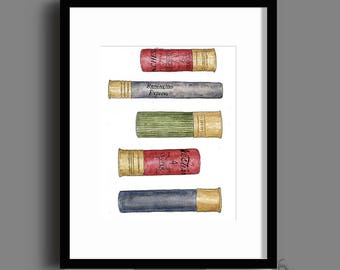 Shotgun Shell Nursery Wall Art - Instant Download - Printable Art - Gender Neutral - Nursery Decor - Printable Nursery Art - DIY Print