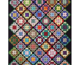 Aunt Joe's Afghan quilt pattern