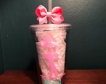 For your little Dancer - Personalized Tumblers