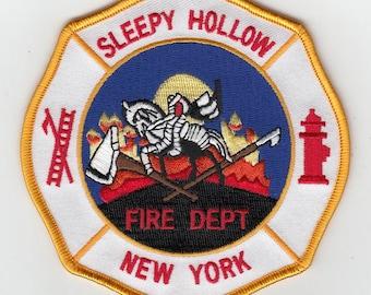 """New York Sleepy Hollow Fire Dept Headless Horseman Patch (4"""")"""