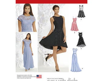 Simplicity 1195 - Misses / Misses Petite Dress with Bodice & Length Variations