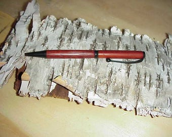 Paduak Wood- From India- Slim Line Handmad Pen
