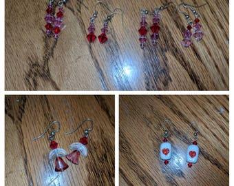 Valentine's Themed Earrings