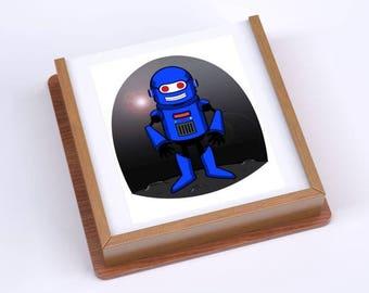 Happy Teacher Robot Block Puzzle