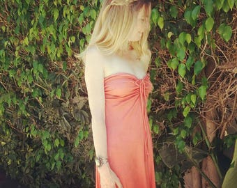 Vintage 1970's maxi dress