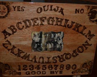 Creepy Photogragh  Ouija Table