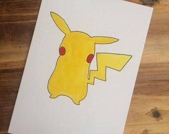Pikachu Silhouette