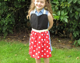 Minnie Mouse Fancy Dress costume, one of a range of superhero and princess costumes
