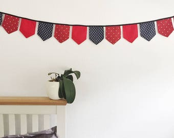 Beautiful handmade cotton bunting