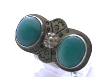 Double Amazonite Ring