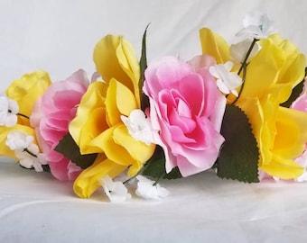 Burst of Spring Flower Crown