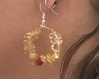 Sunberry earrings