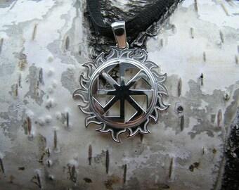 Kolovrat Pendant. Slavic jewelry. Slavic talisman. Pagan jewerly. Slavic amulet. Ancient jewerly.