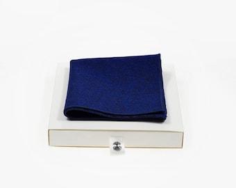 de MORÉ - Ocean Blue Pocket square