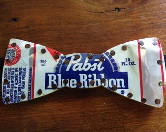 Pabst Blue Ribbon Bow Tie