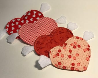 Cupid Heart Coasters
