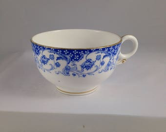Jones McDuffee and Stratton Blue and White Teacup
