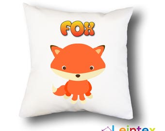 Pillowcase 40x40 pillow fox No4