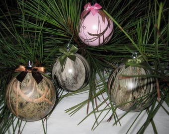 Mossy Oak Christmas Ornament Balls