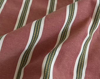 Christmas Striped Luxury Upholstery Fabric