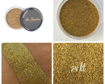 24 KT - Cosmetic Glitter, Loose Glitter