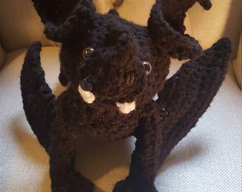 Crochet gargoyle,bat,goblin,vampire