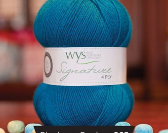 West Yorkshire Spinners Signature 4 ply - Blueberry Bonbon