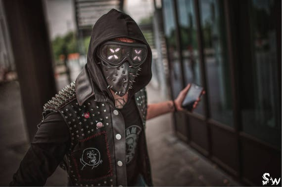 Wrench From Watch Dogs 2: Wrench Watch Dogs 2 Print By Skunk And Weasel