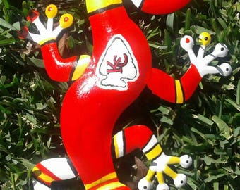 Kansas City Chiefs Gecko