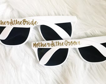 Personalized Sunglasses/Customized wedding Sunglasses/Mother of the Bride/Groom Sunglasses/Wedding Party Favor
