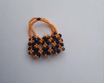 Bead mini handbag