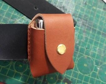 Leather ZIPPO BELT POUCH