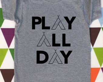 Play All Day Kids' Graphic Tee