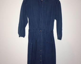 Eddie Bauer Denim Dress (fits medium/large)