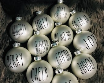 Dunn Inspired Ornaments