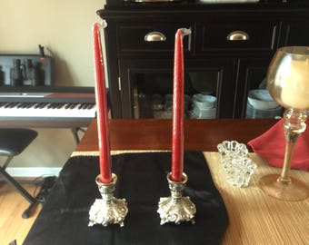 Pair of Beautiful Candle Holders