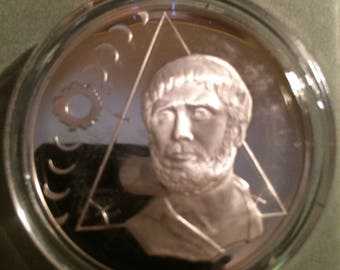 Thales of Miletus - Sterling Silver Collection of History of Science (Proof)