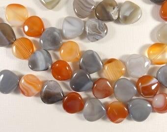 Agate Beads. Agate, Gemstones