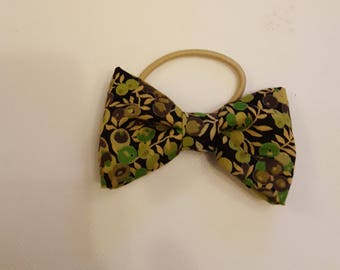 Stunning,hair bows, children's, adult's,  fashion, clips, hair, flower,  Liberty of London, olive, flowers