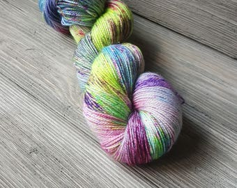 Mermaid's Day Off hand dyed yarn
