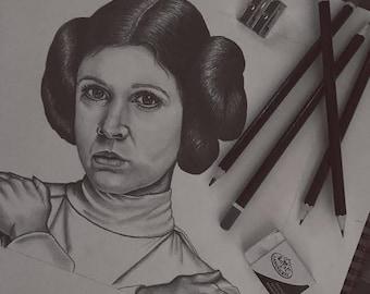 Princess Leia Portrait