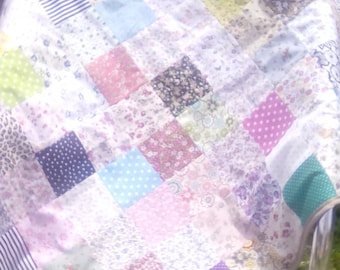 Baby patchwork blanket or play mat