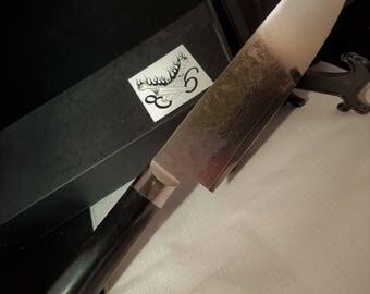 Custom Chef Knife #383