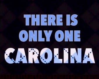CAROLINA UNC Ceramic Tile Coasters set of 4