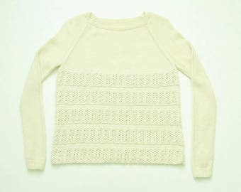Sweater knit pure Merino Wool